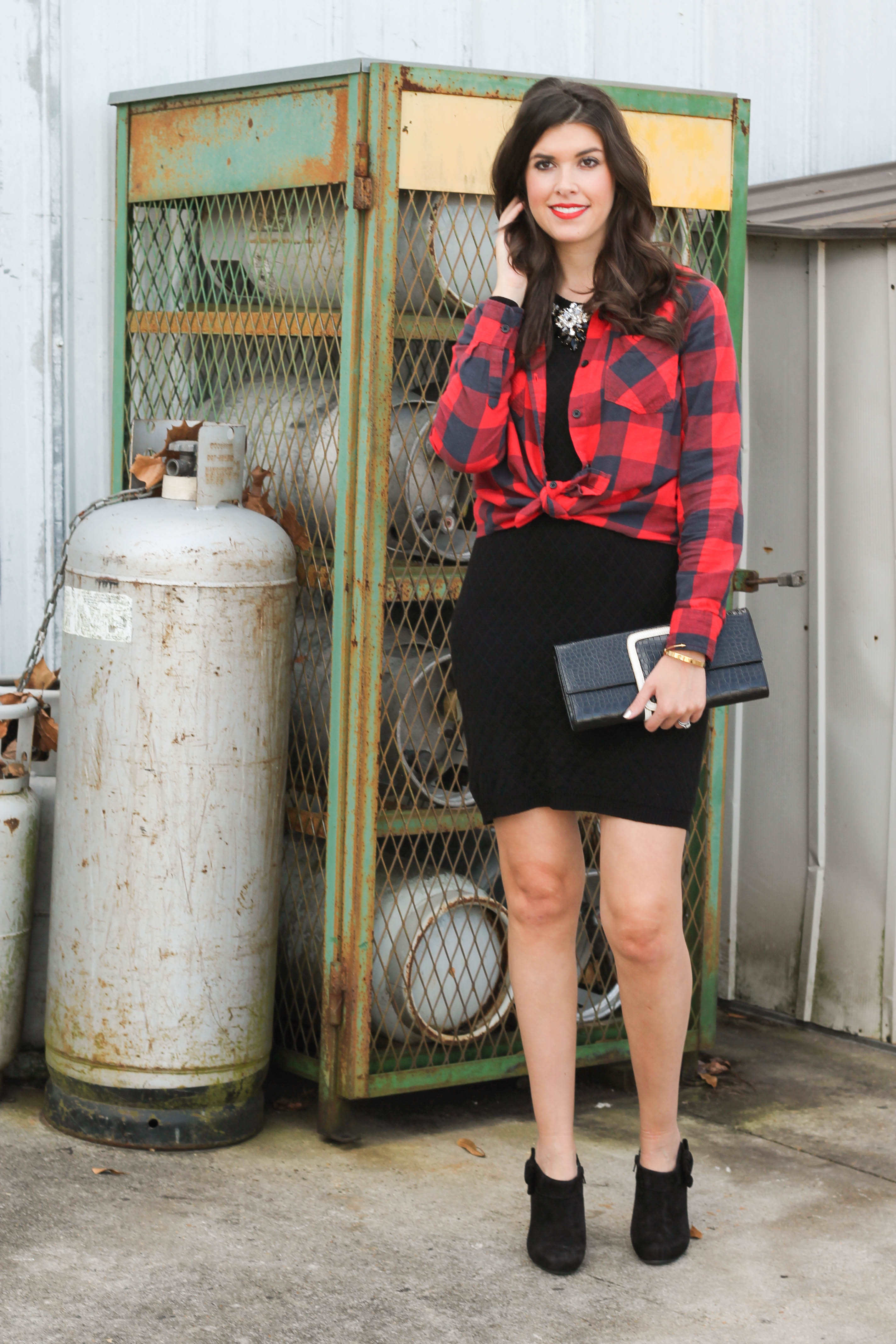 2015-12-06 13.29.15 - Holiday Glam + Buffalo Red Plaid Shirt by New York fashion blogger