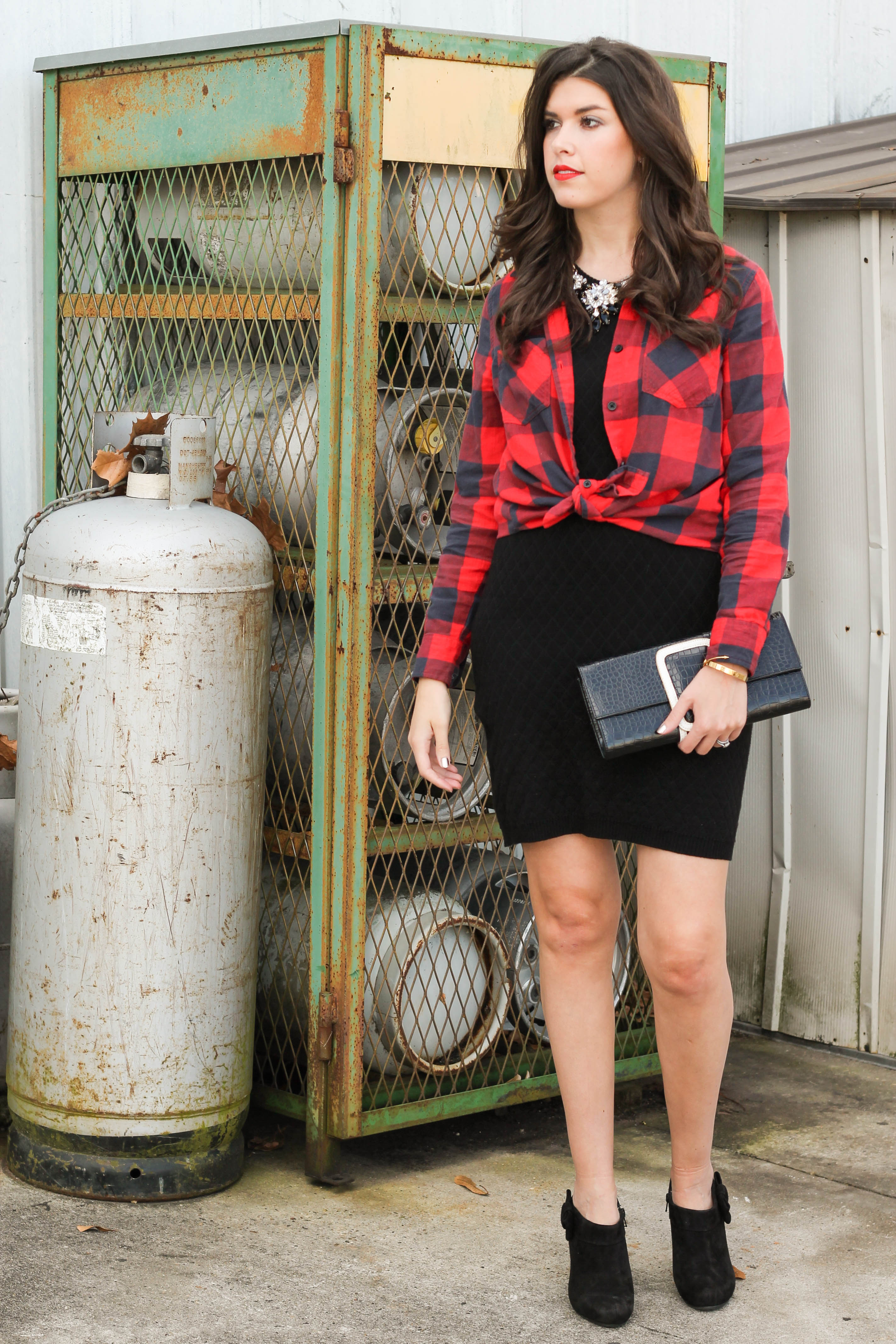 2015-12-06 13.29.25 - Holiday Glam + Buffalo Red Plaid Shirt by New York fashion blogger