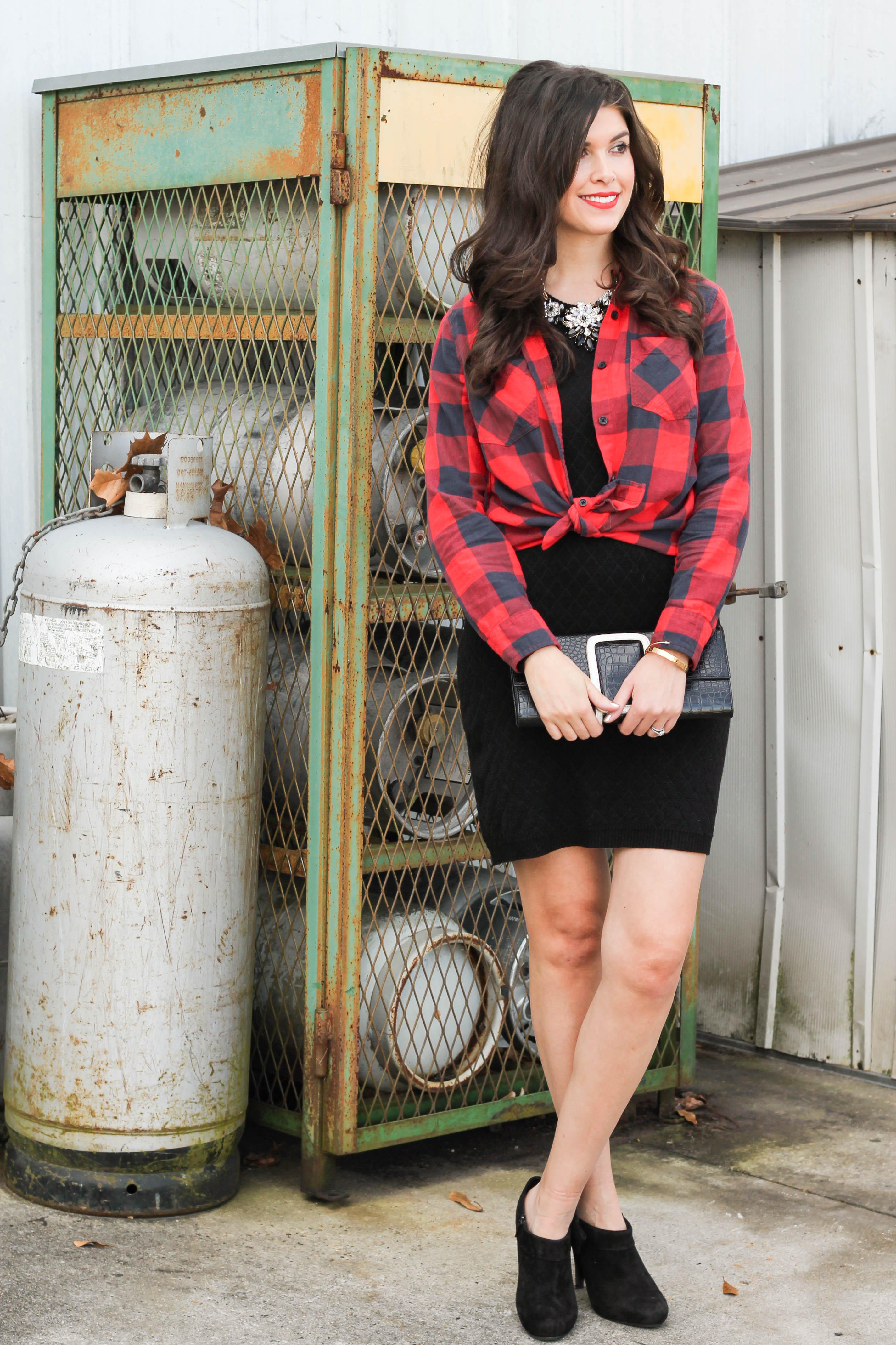 2015-12-06 13.29.32 - Holiday Glam + Buffalo Red Plaid Shirt by New York fashion blogger