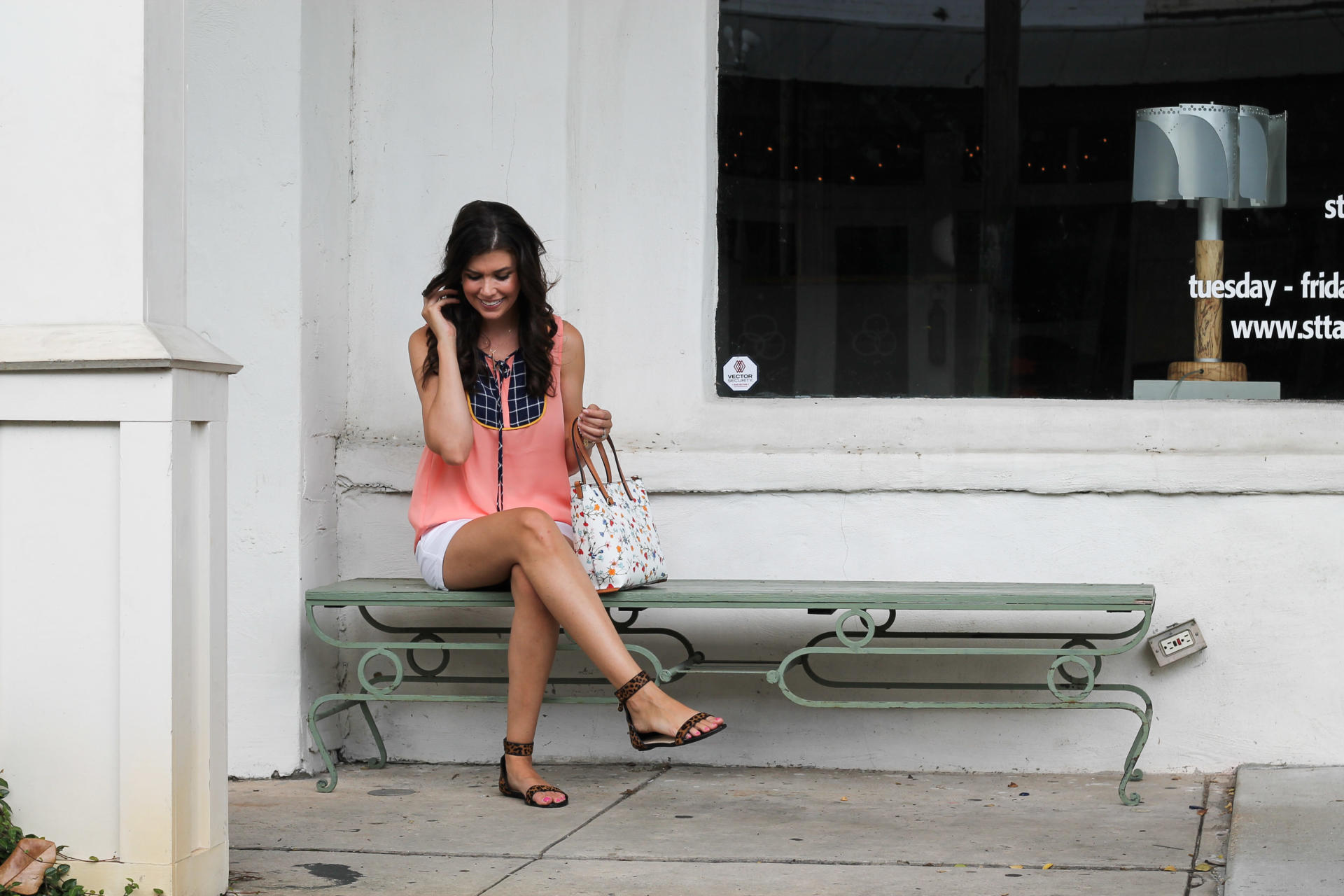 THML coral top