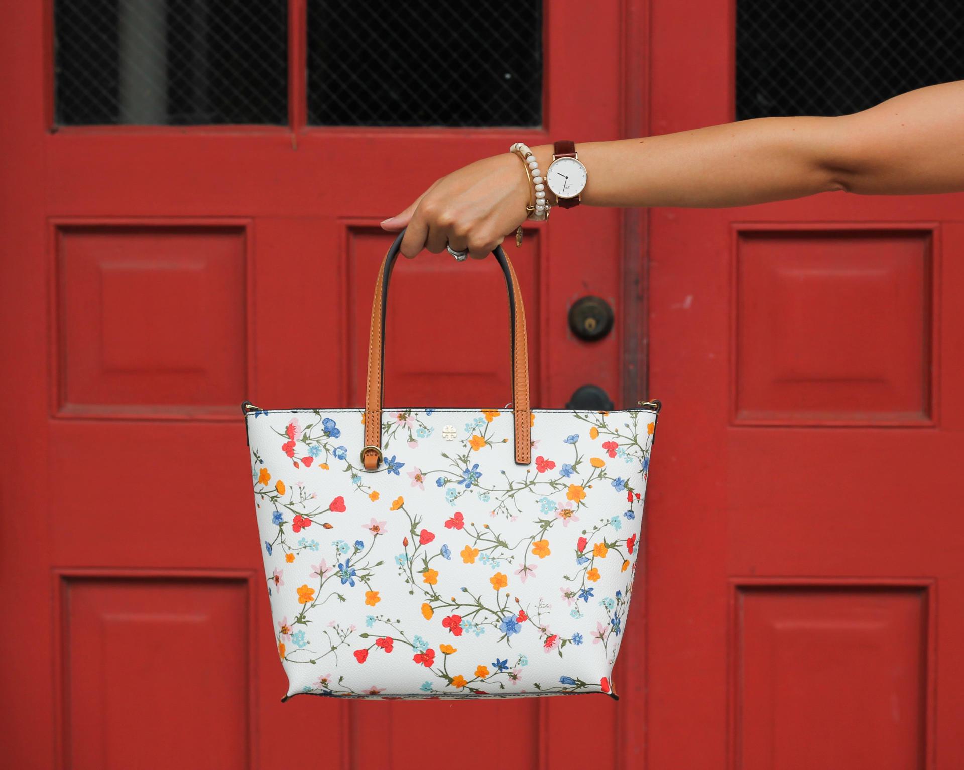 Tory Burch Floral Bag