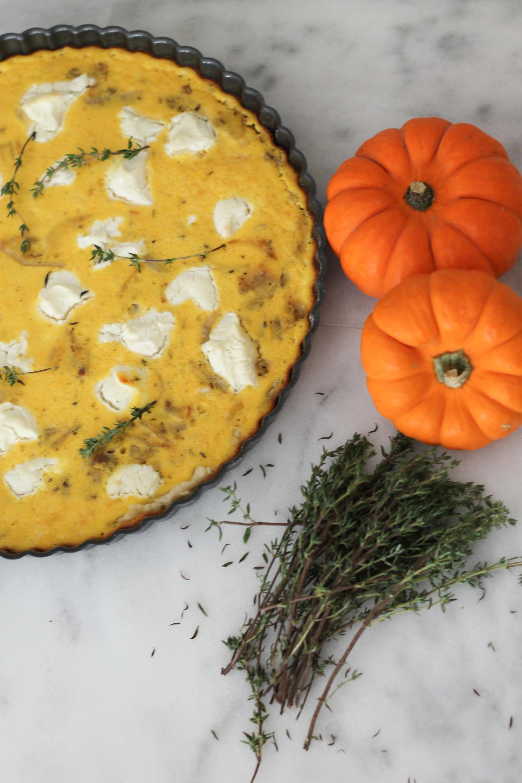Savory Pumpkin Tart