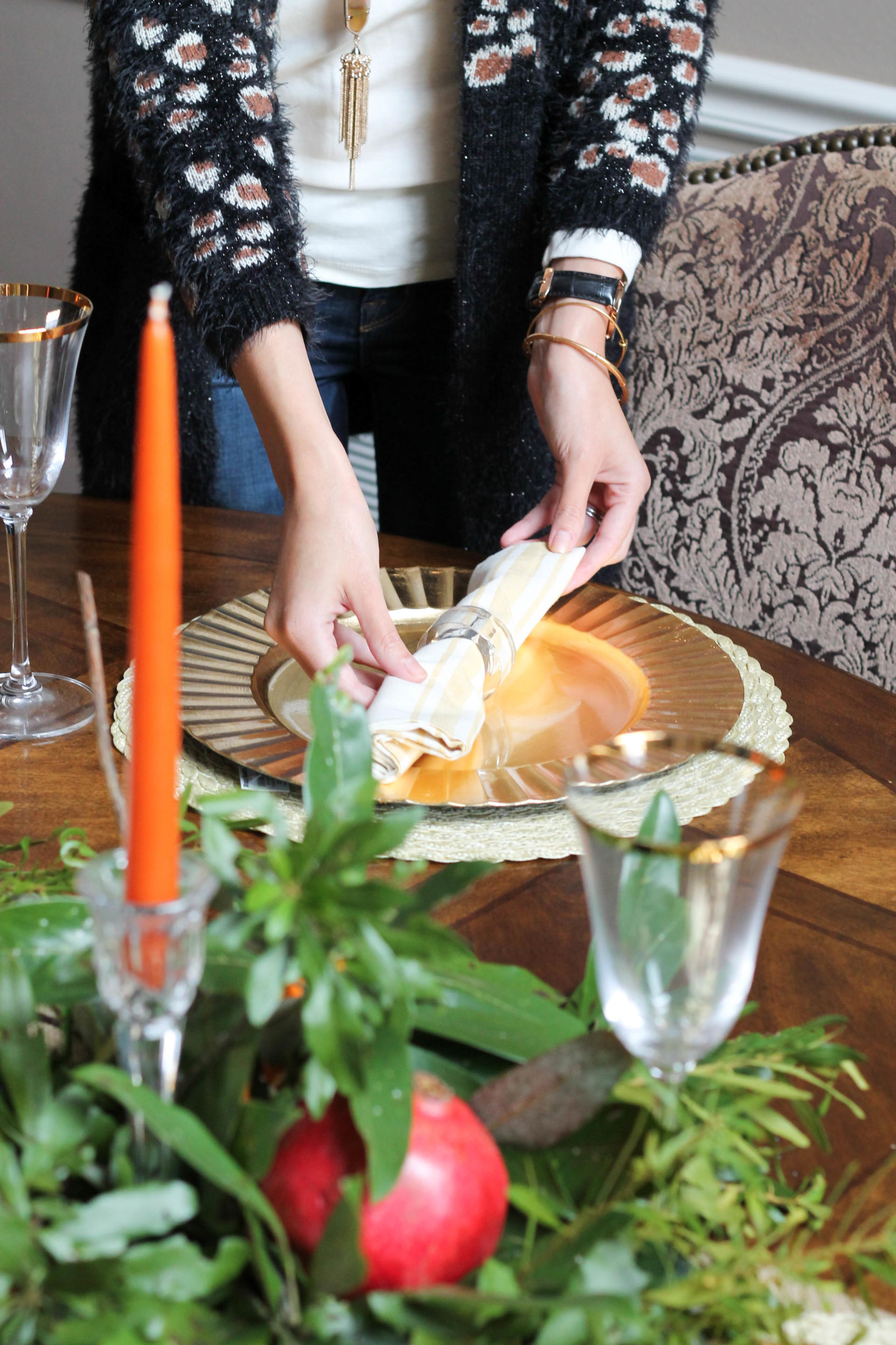 Easy Thanksgiving Tablescape