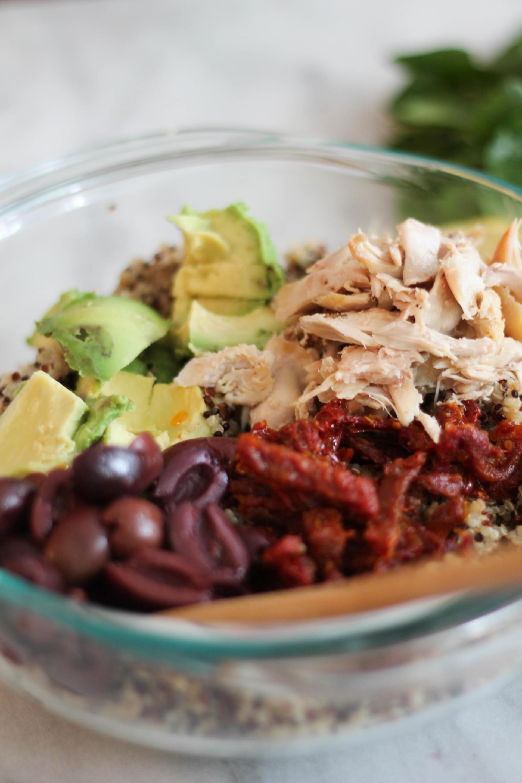 Healthy Whole30 Chicken Salad
