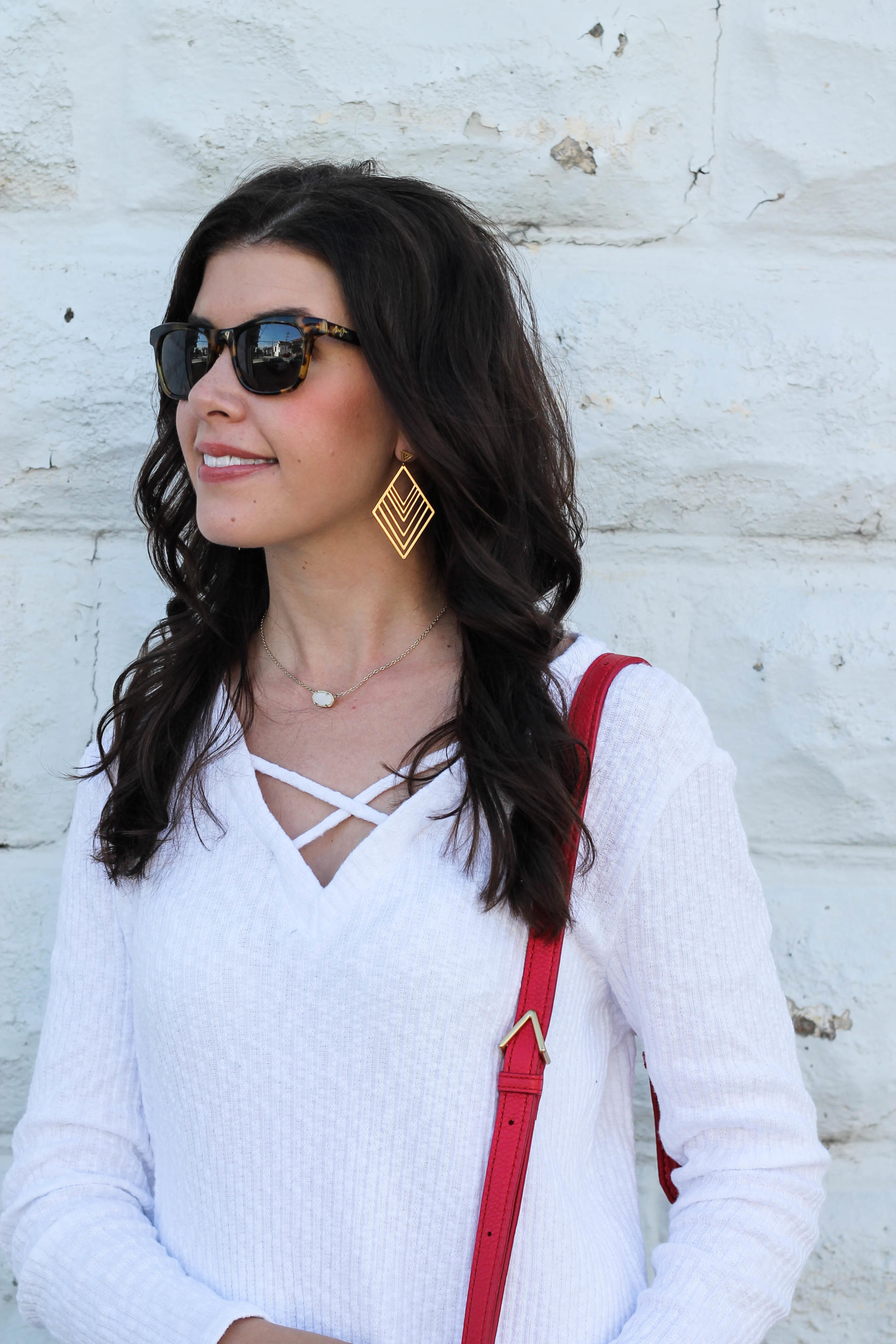 Criss Cross Sweater For Spring