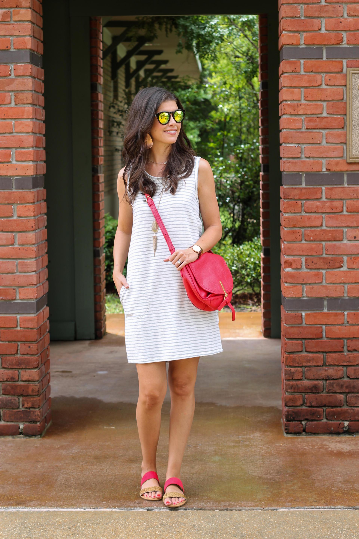 Budget Friendly Striped Summer Dress
