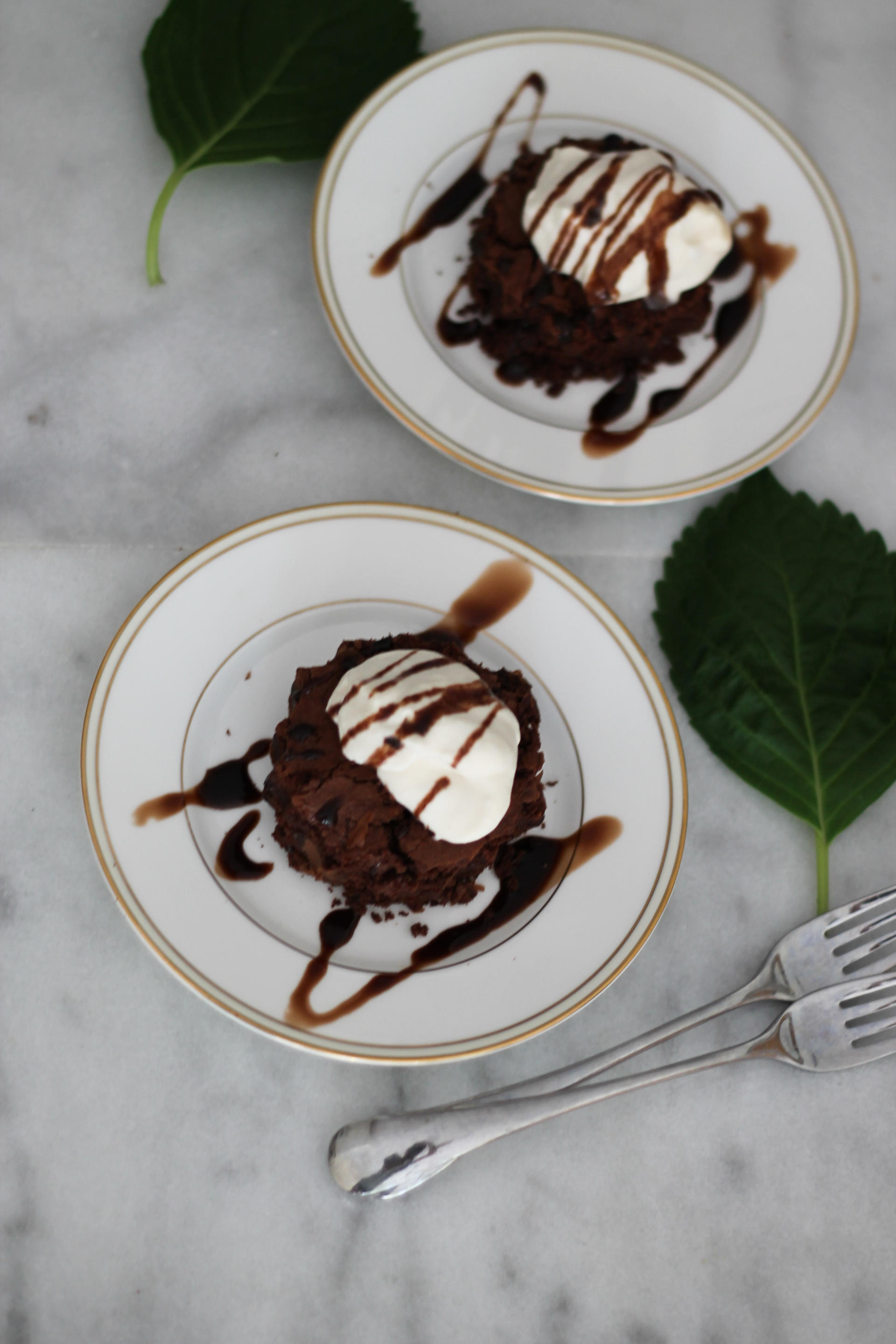 The Barefoot Contessa's Brownie Tart With Salted Caramel Whipped Cream