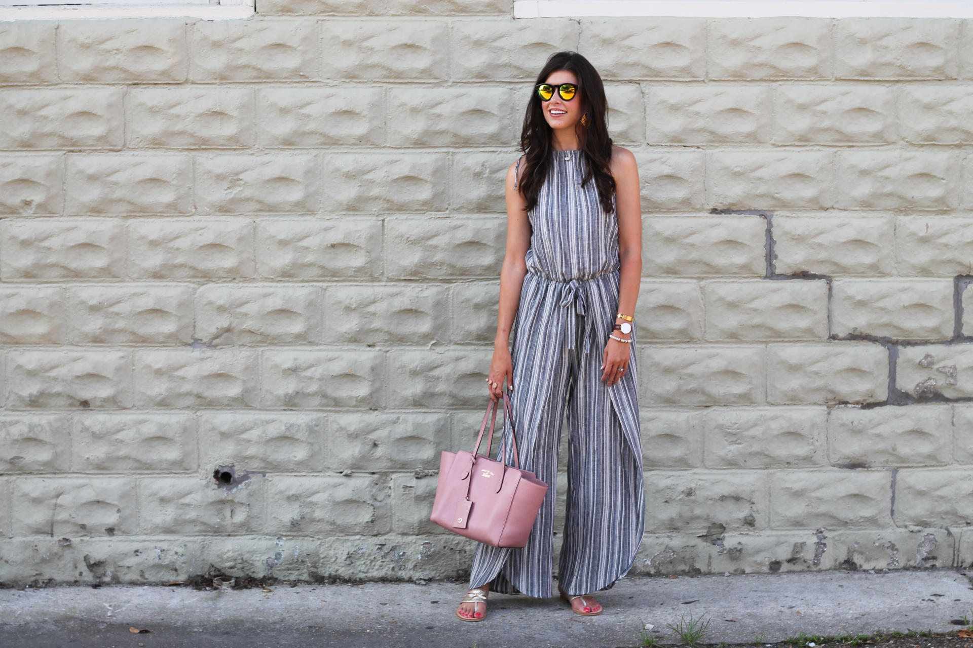 A Striped Jumpsuit & $1000 Nordstrom Gift Card Giveaway
