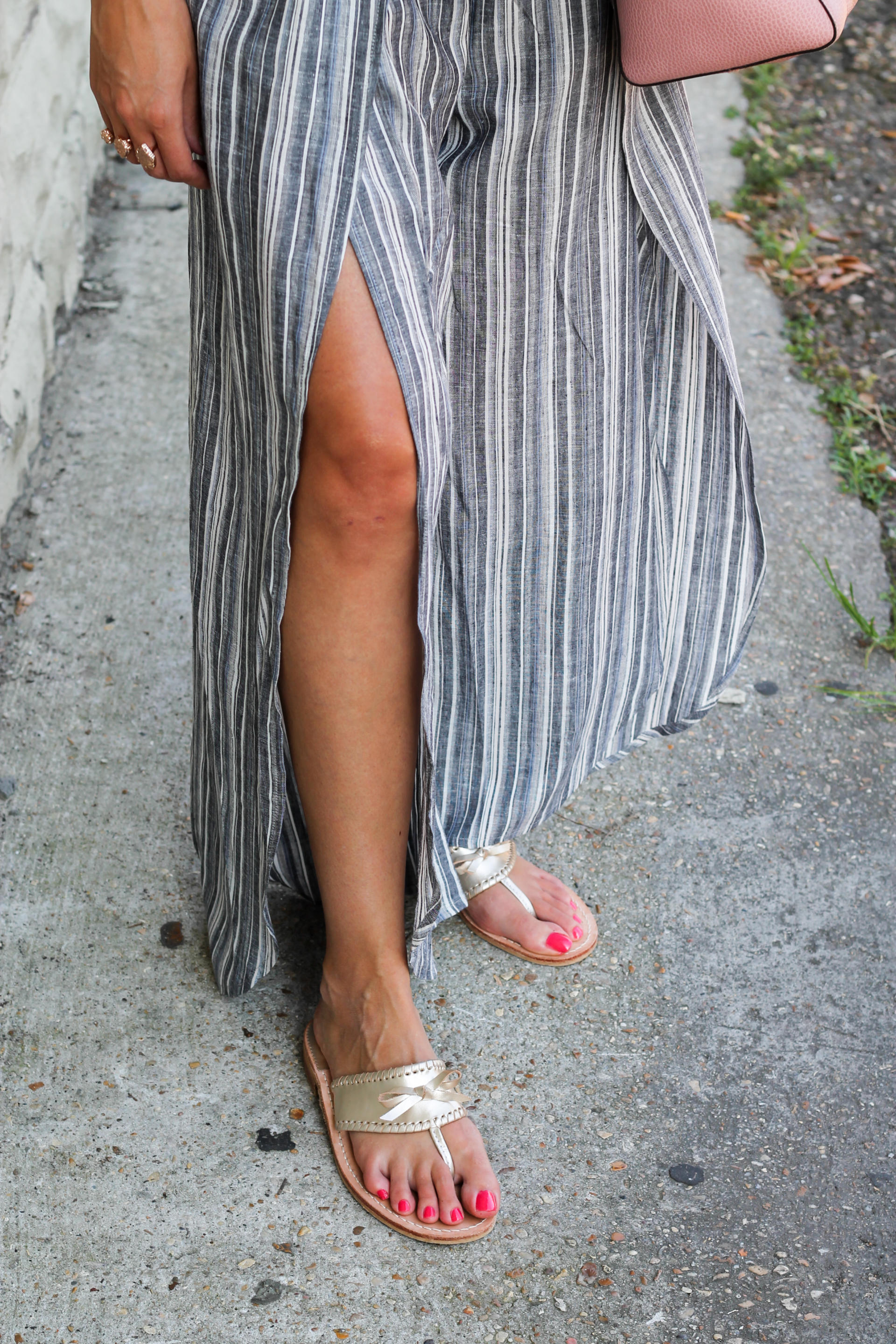 A Striped Jumpsuit & $1000 Nordstrom Gift Card Giveaway - A Striped Jumpsuit by New York fashion blogger Style Waltz