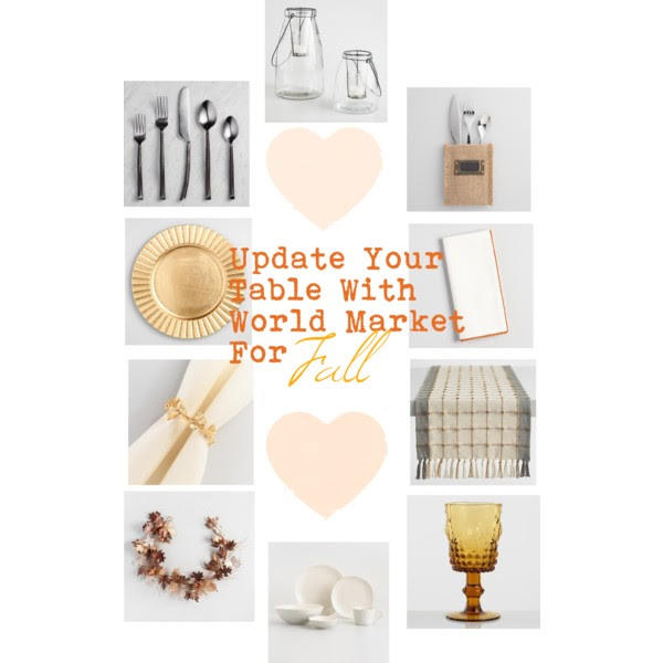 Update Your Table With World Market For