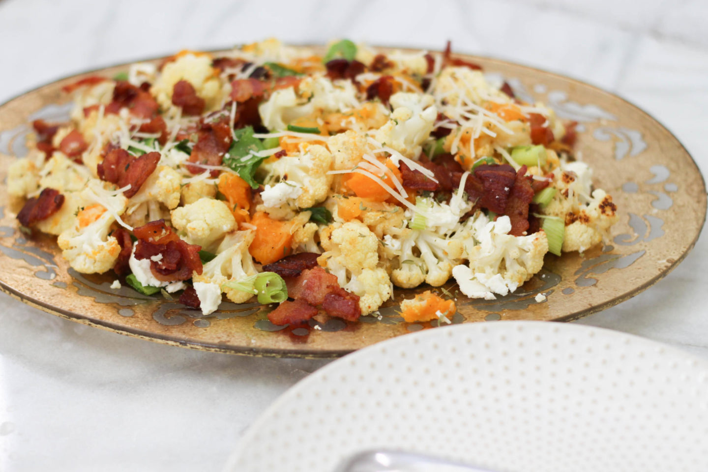 Holiday Ready Roasted Squash Salad by New York blogger Style Waltz