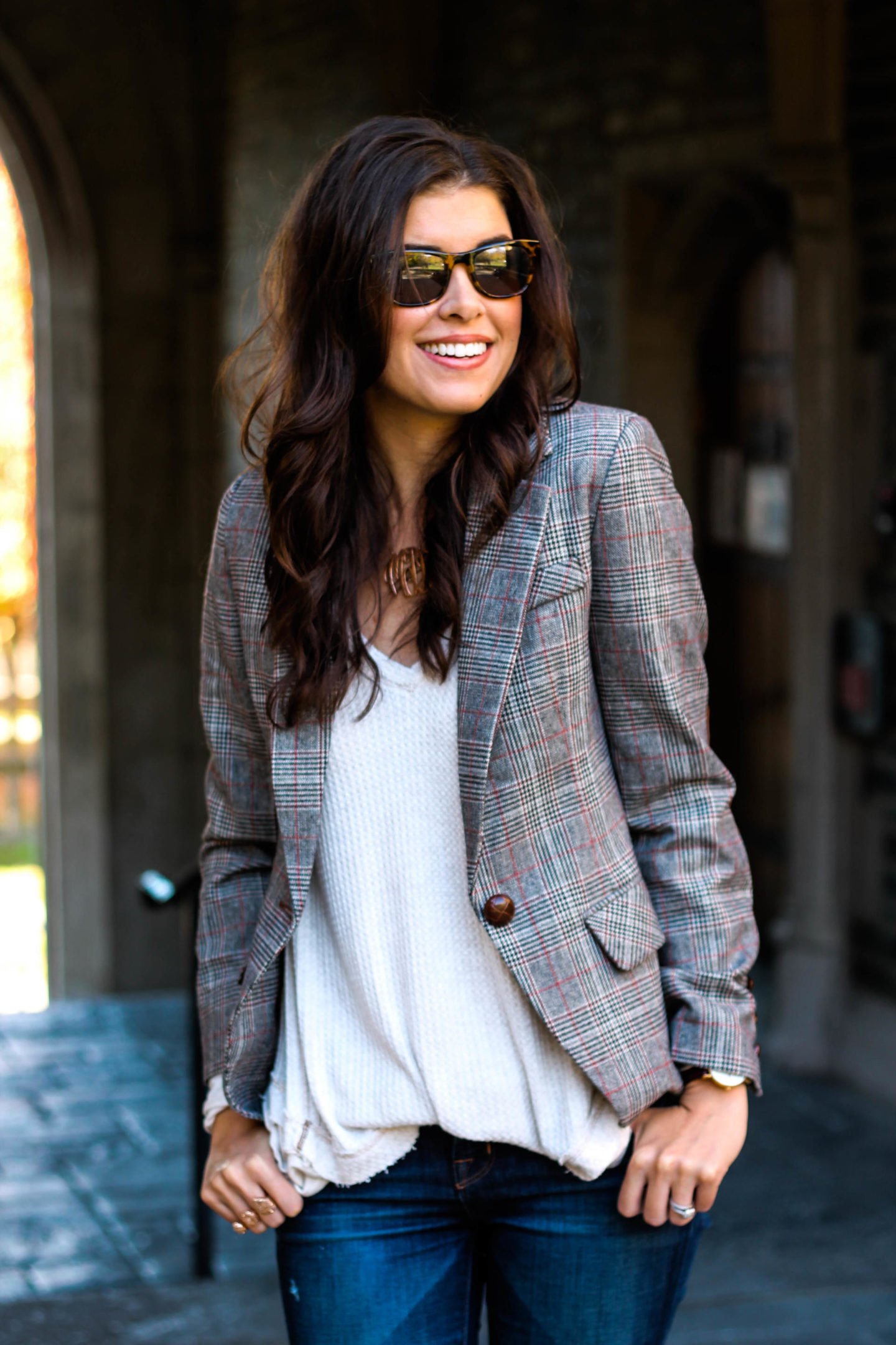 The Plaid Blazer Your Closet Needs by New York fashion blogger Style Waltz