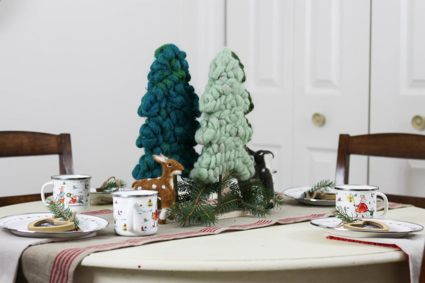 Easy Children's Christmas Tablescape With World Market by New York lifestyle blogger Style Waltz
