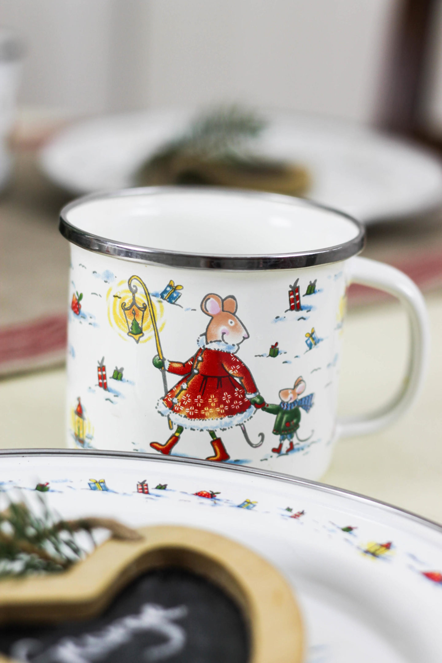 Easy Children's Christmas Tablescape With World Market