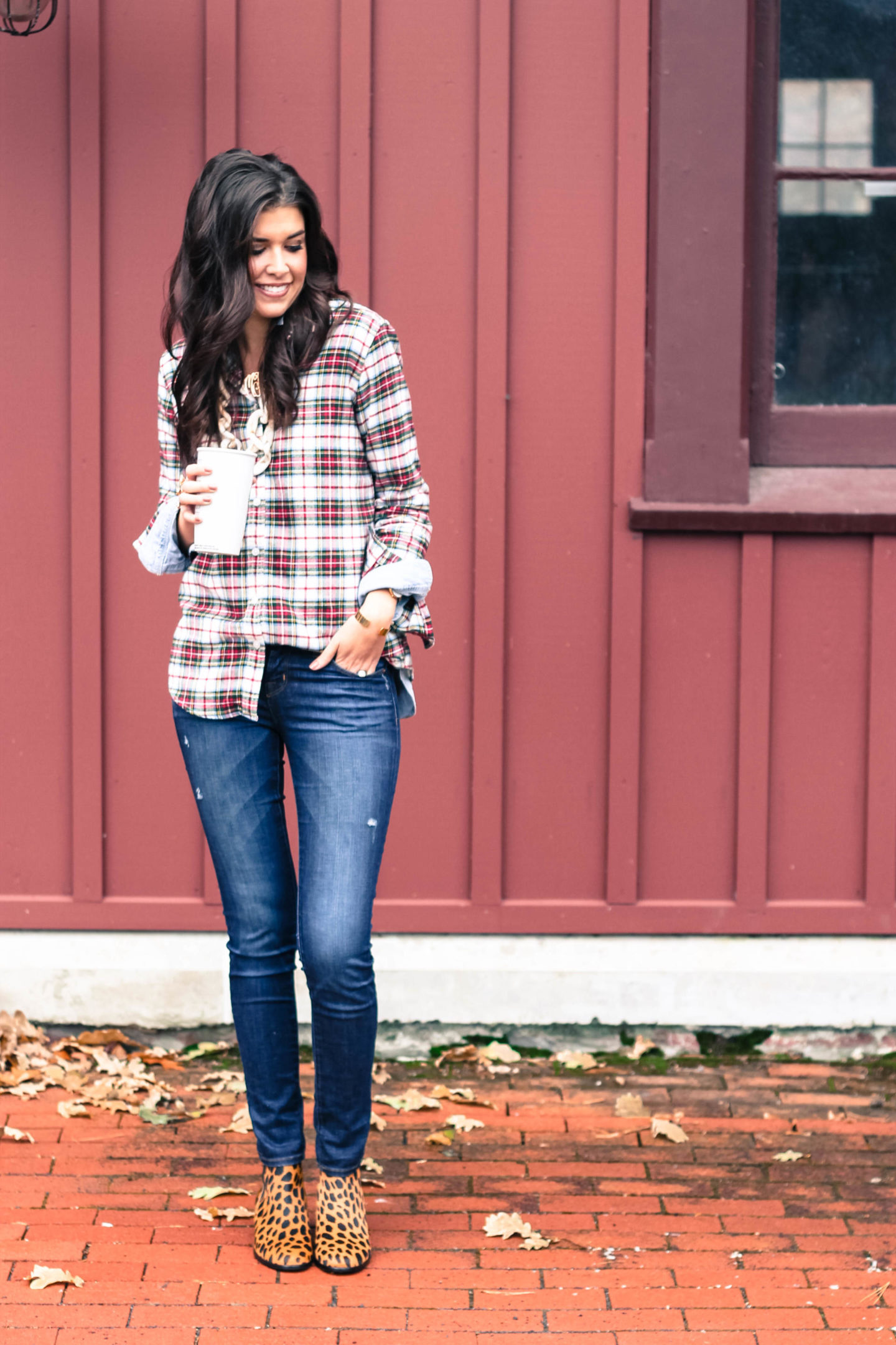 Dressing Up Your Favorite Plaid Shirt This Holiday Season