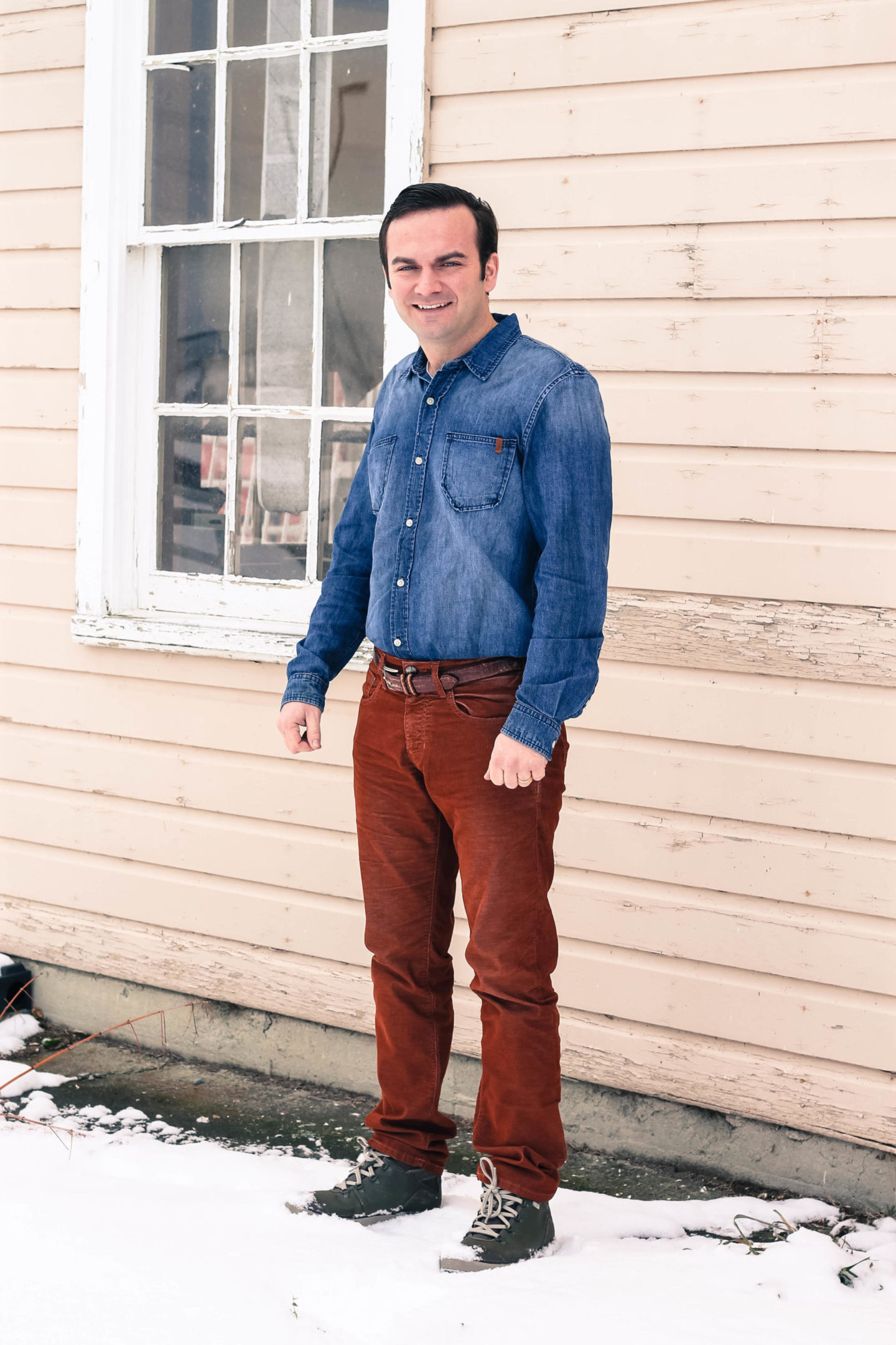 Dress Your Man In Stitch's Jeans