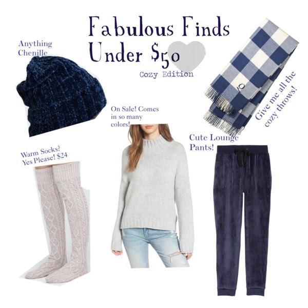 Cozy Fnds Under $50